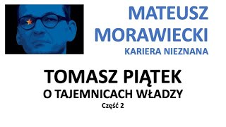 Mateusz Morawiecki kariera nieznana cz.2