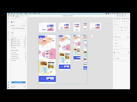 Adding Breakpoints - Anima for Adobe XD