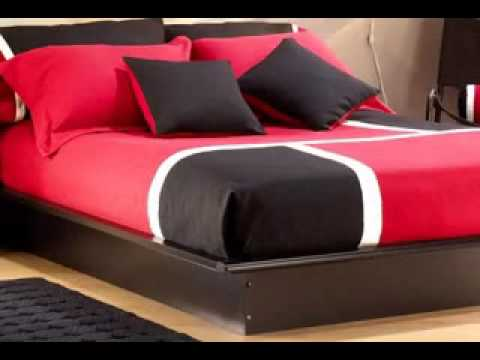 Easy Diy Red And Black Bedroom Decorations Ideas