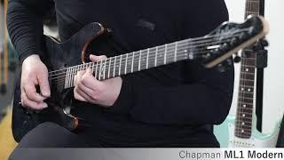 Chapman ML1 Modern :: Demo, Soundcheck