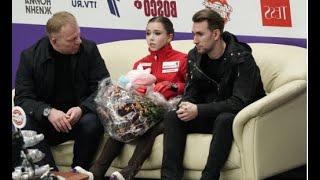 К сожалению на Гран при в Москве мы ее не увидим ВАЛИЕВА не проходит по возрасту Будем грустить
