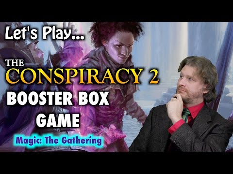MTG - Let's Play The Conspiracy 2 - Take The Crown - Booster Box Game for Magic: The Gathering