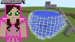 Minecraft: DUNKING BOOTH GAME - GALAXY WORLD PARK - Custom Map [8]