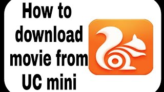 Gambar cover How to download movie from UC mini || by Technical Adesh