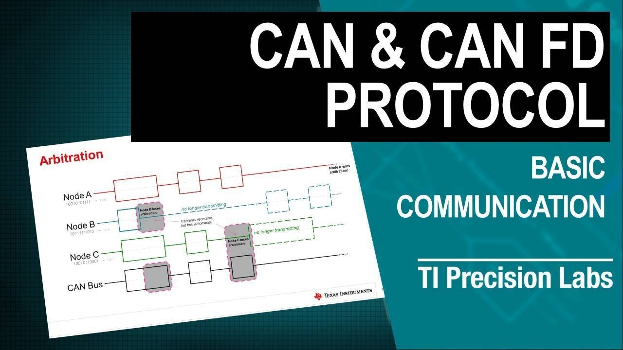 TI Precision Labs - CAN/LIN/SBC: CAN and CAN FD Overview
