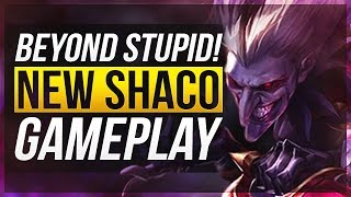 NEW AP SHACO IS BEYOND ANNOYING...   Shaco Rework Gameplay - League of Legends
