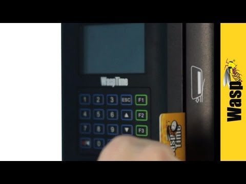 Time & Attendance System | WaspTime Standard Barcode Employee Time Tracking Solution