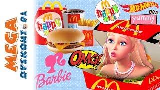 Happy Meal #2  Barbie & Hot Wheels  nowe zabawki z McDonalds ✨ 2019