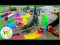 Cars for Kids | MAGIC TRACKS Playset with TRACKMASTER! Thomas and Friends Fun Toy Trains!