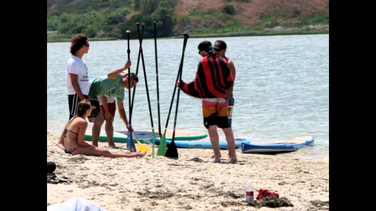 Paddle Boarding Time Carlsbad Lagoon Youtube