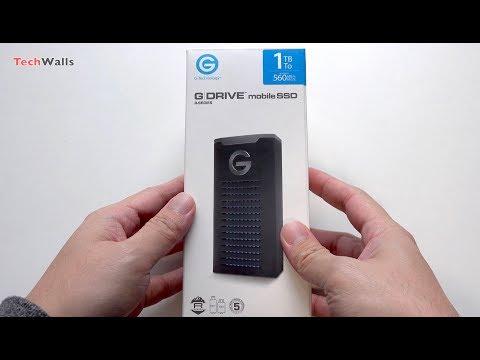 G-Technology G-DRIVE 1TB mobile SSD R-Series
