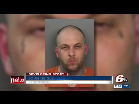 Brownsburg man shoots wife in front of child, wanted by police