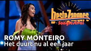 Romy Monteiro - Het duurt nu al een jaar | Beste Zangers Songfestival