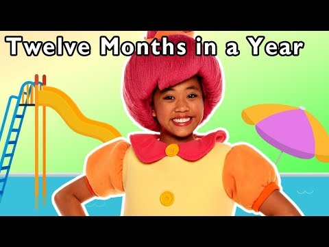 Twelve Months in a Year and More | LEARN THE MONTHS RHYME | Baby Songs from Mother Goose Club!