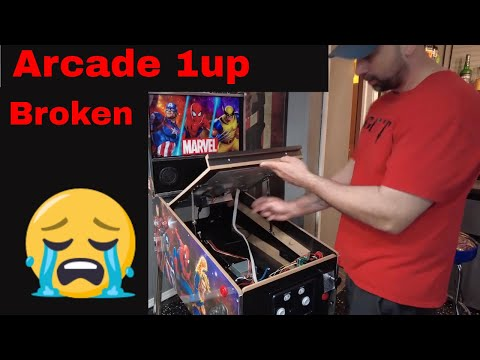 Arcade1up pinball issues from chuck kososky