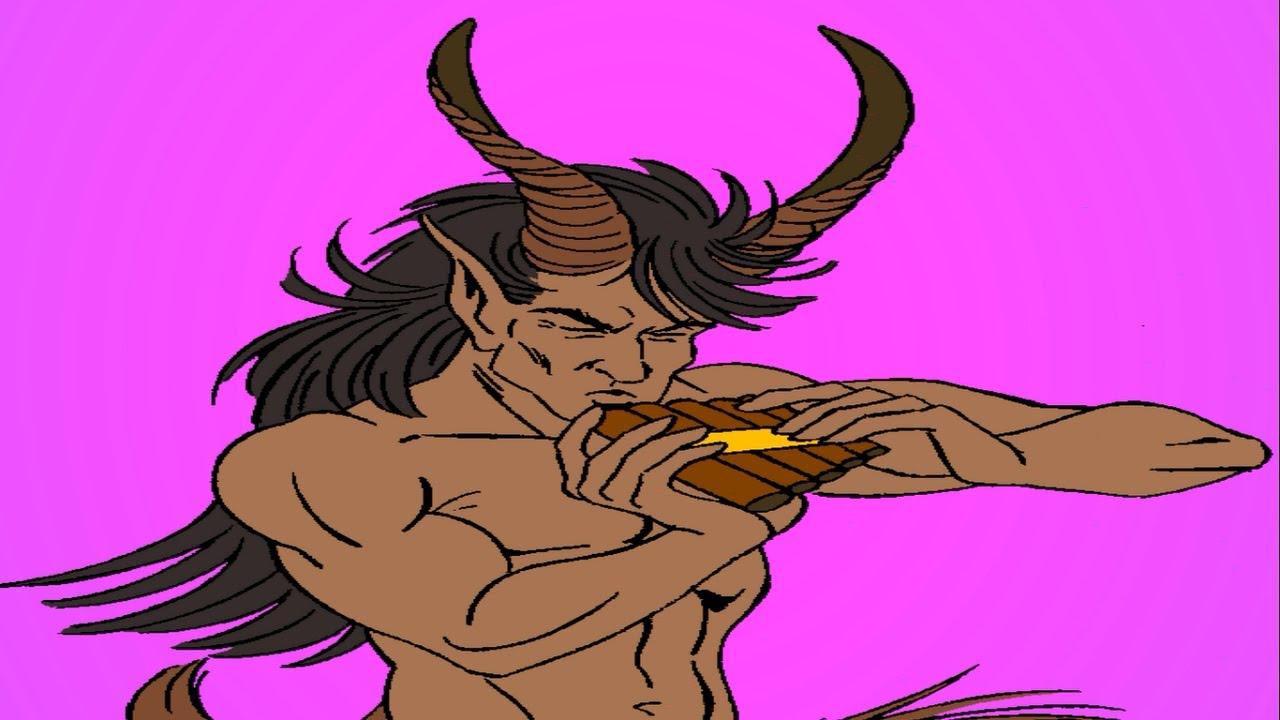 El mito de Pan y Siringa | El origen de la flauta de pan | Mitología ...