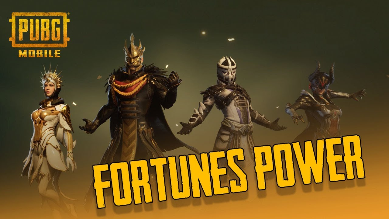 PUBG MOBILE - Fortune's Power | Kekuatan Dari 4 Penguasa