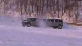 HUMMER drifting  New York.flv