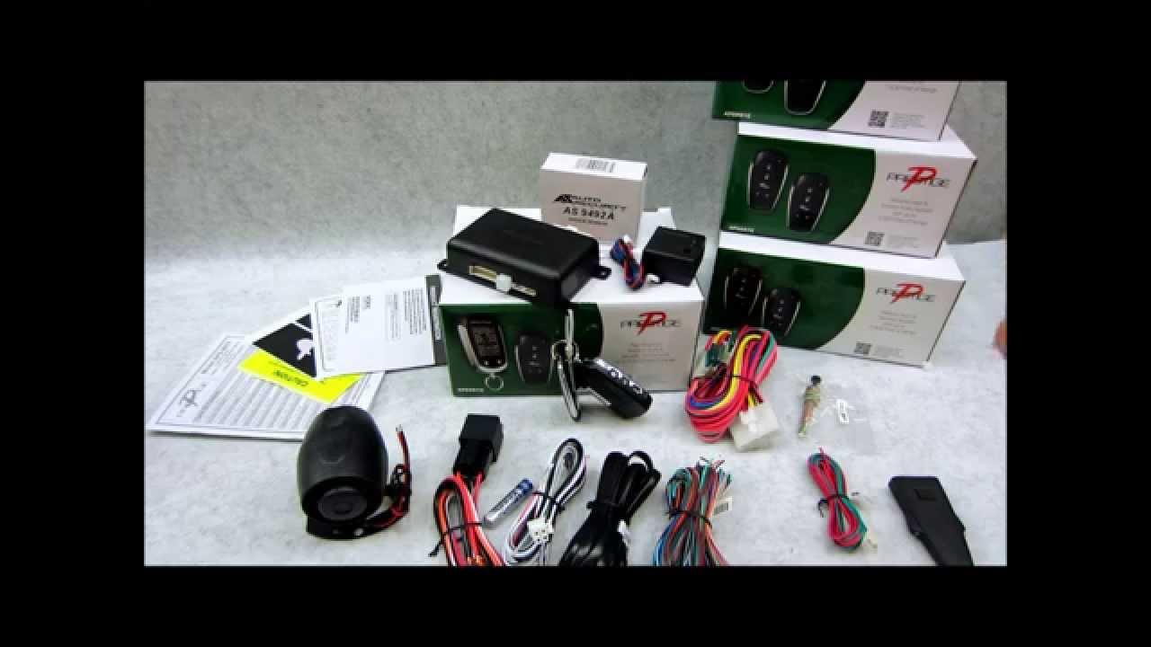 audiovox car alarm wiring diagram honda prelude prestige aps997e remote start review youtube