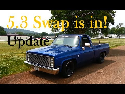 5.3 Swap Update! Its in and driving! '87 Chevy Truck - C10 R10 LS1