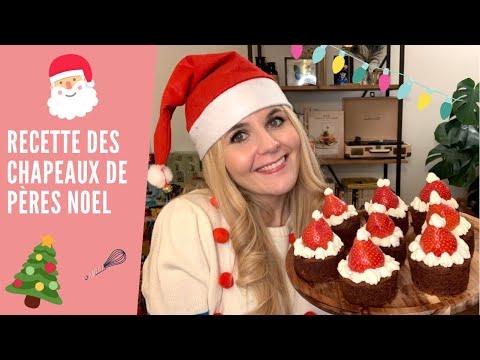 recette-originale-dessert-noËl-/-chapeaux-de-père-noël-!🎄🎄