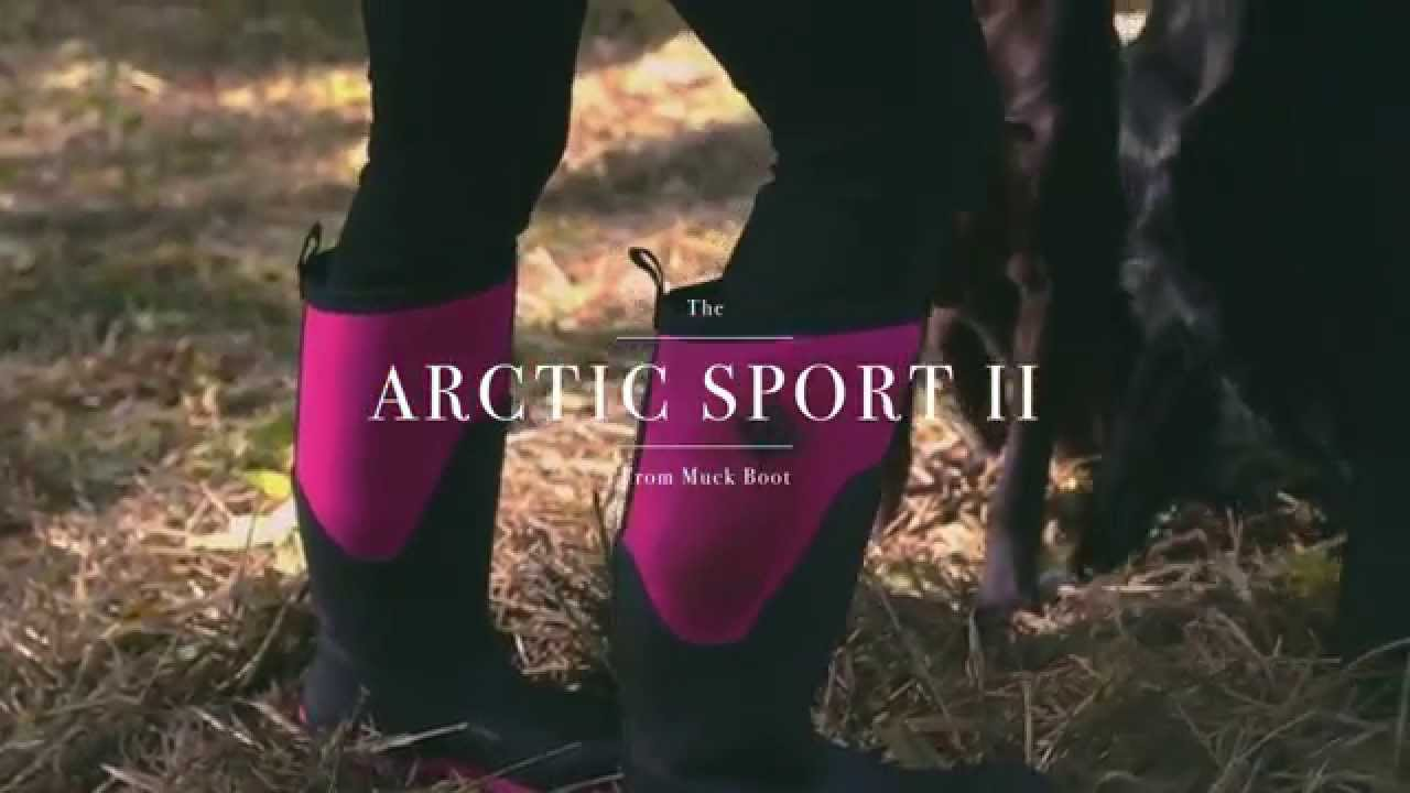 The Arctic Sport II Boot | The Original Muck Boot Company - YouTube