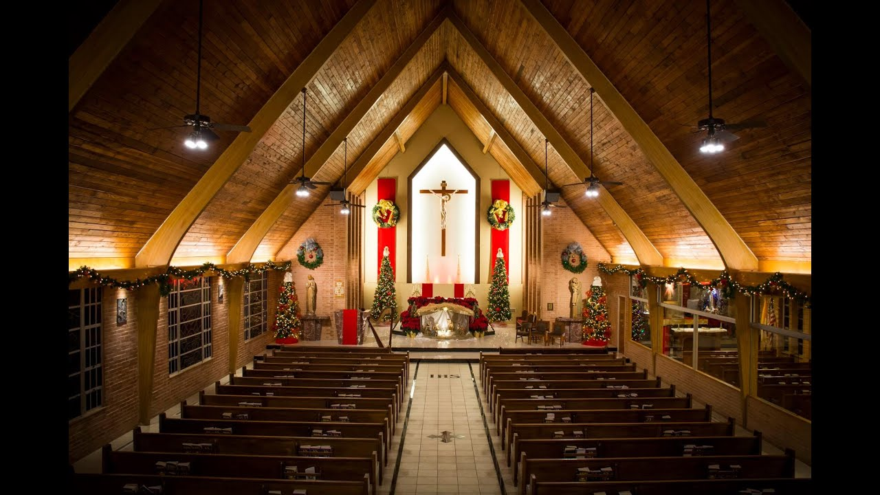 A mass in a catholic church essay