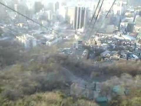 Cable Car at Seoul Tower