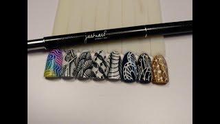 «Роспись пером на ногтях». Мастер-класс Алексея Фодина
