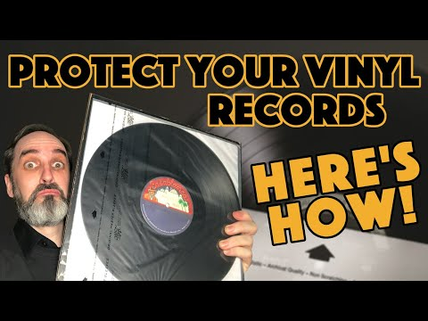 Outer and Inner Sleeve Protection For Your Vinyl Records