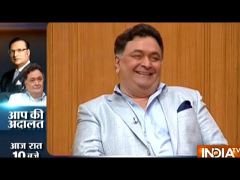 Why Rishi Kapoor Will Not Go To Bihar? | Aap Ki Adalat