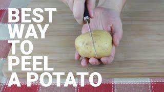 The Right Way To Peel a Potato