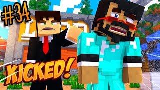 Minecraft: I GOT KICKED - Skybounds Ep. 34