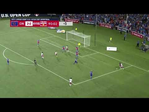 Lamar Hunt U.S. Open Cup: FC Cincinnati vs. New York Red Bulls: Highlights - Aug. 15, 2017