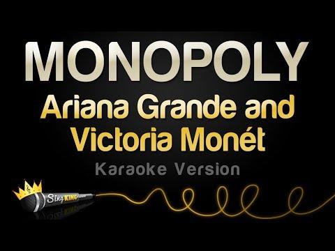 Ariana Grande and Victoria Monét  - MONOPOLY Karaoke