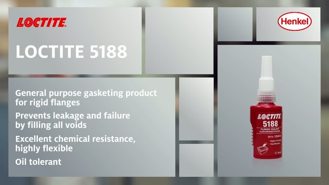 How to use LOCTITE 5188 - Gasketing product