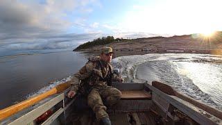 Рыбалка на севере. Ловля окуня на спиннинг. Река Печора.