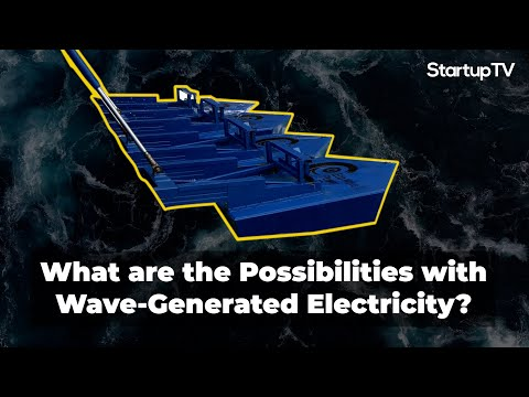 Eco Wave Power Makes Energy from the Ocean
