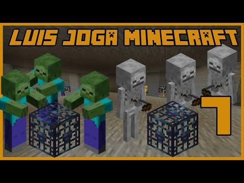 Luis Joga Minecraft 2 - Duplo Spawner EXP Farm - Ep.7
