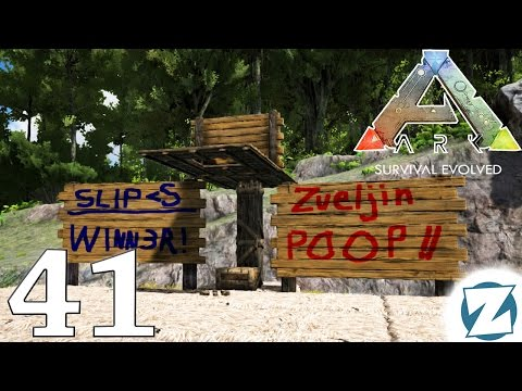 ARK Survival Evolved Gameplay - Ep41 - Basketball Court (Poopsketball) - Let's Play