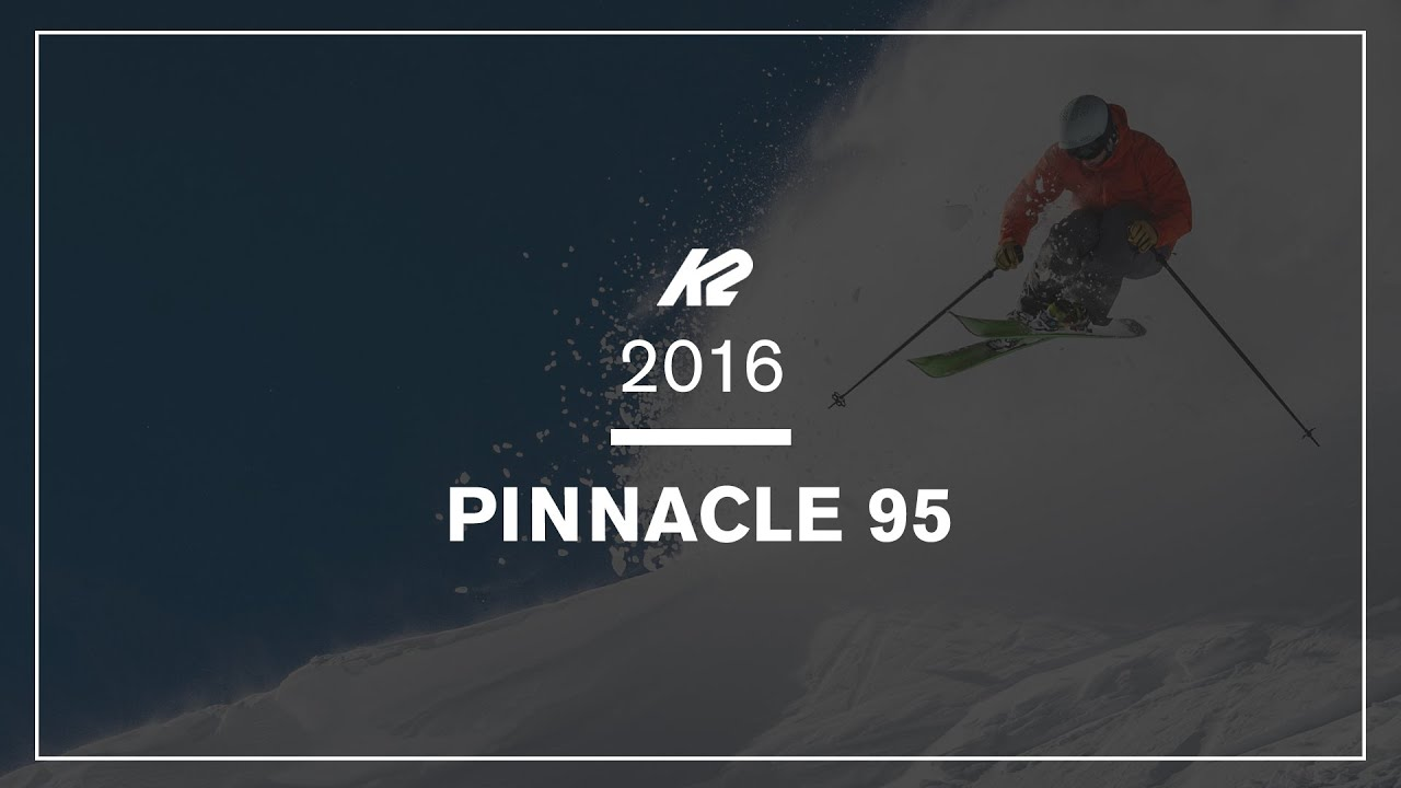 K2 Pinnacle 95 Freerideski 16/17 184 cm