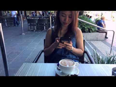 Breakfast - Darling Harbour , Sydney