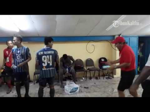 VIDEO Beginilah Situasi Ruang Ganti Pemain Persiba Balikpapan Setelah Kemenangan Perdana