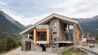 casa piedra madera moderna fotos casas montana diseno interior rural montana modern diseno fachada exterior roof galeria