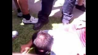 Repeat youtube video Estuprador pego pela população. 12/12/12