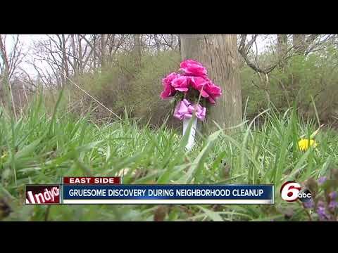 Body found partially concealed near creek bed during neighborhood cleanup on Indy's northeast side