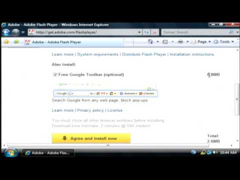 Learn How To Install The Adobe Flash Player In Internet Explorer