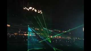 EAGLES FLIGHT NIGHT LASER SHOW W/FIREWORKS
