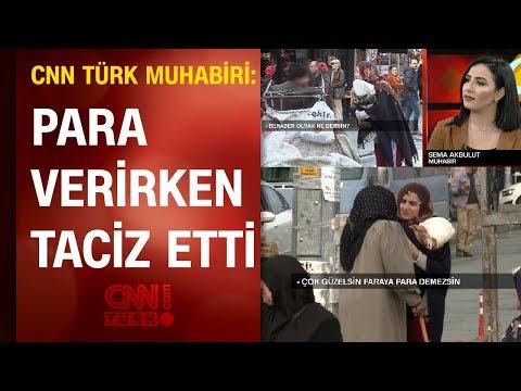 CNN TÜRK muhabiri canlı yayında ahlaksız teklifi anlattı