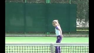 Tennis lesson with little kids.  Детские тренировки по теннису +7(963)6397137